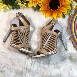 Calvin Klein Naida Caged Sandals 7.5